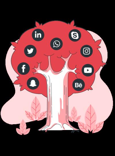Social tree-bro-min