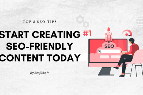 Blogging Tips LinkedIn Post Header
